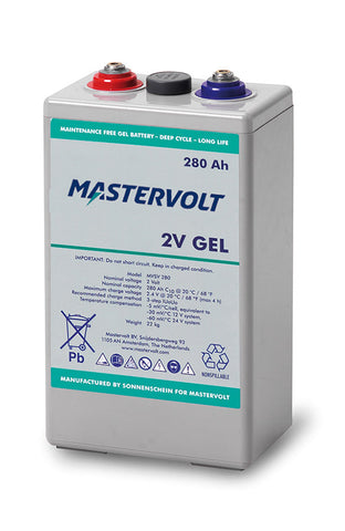 Mastervolt MVSV 2V Gel Series Marine Batteries