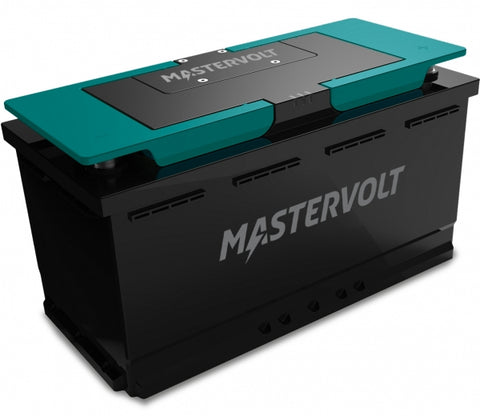 Mastervolt Lithium-Ion battery 12/1200. Very long lifespan, Straightforward replacement for most existing lead-acid batteries | 66011200