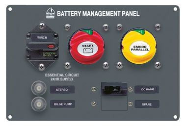 BEP - 800-MS4 - BAT MGMT PAN SAILBOAT 9-12M