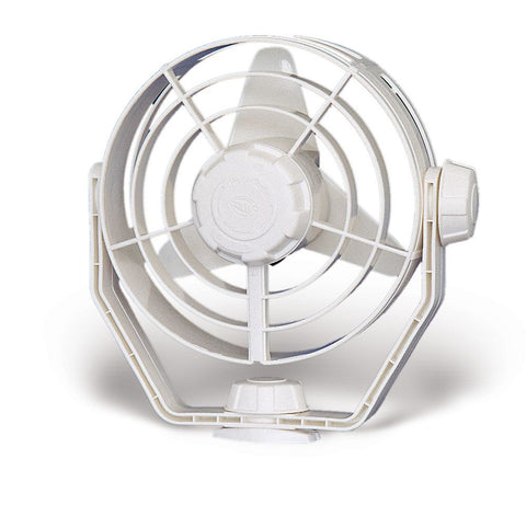 Hella Marine-8EV 003 366-022-FAN TURBO 2.0 12V WHITE HOUSING - OSCILLATING