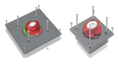 BEP - BSP-1 - MOUNTING PLATE FOR 701 SINGLE RECESSED