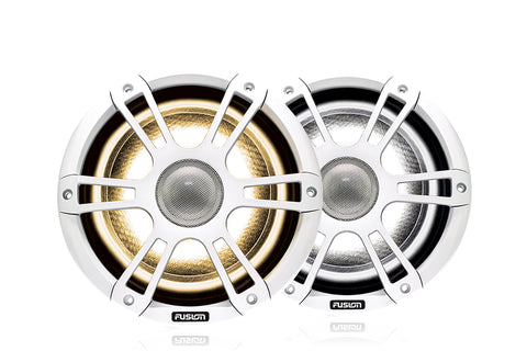 "Fusion - SG-FL652SPW / 010-02432-10 - 6.5"" 230 Watt Coaxial Sports White Marine Speaker with CRGBW"