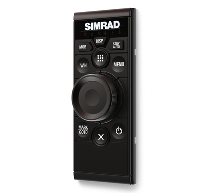 Simrad OP50 wired remote controller. (Portrait mount)