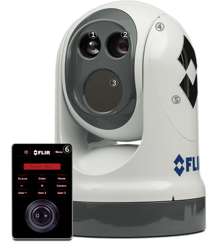Flir -M400 640 x 480 Vox Microbolometer18° to 6° HFOV / 1.5° HFOV with e-zoom - Non Video Tracking