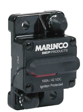BEP  - 184100F-01-1 - HEAVY DUTY CIRCUIT BREAKER 100A MANUAL RESET SURFACE MOUNT