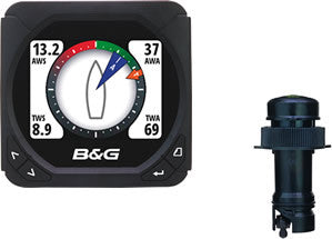 B&G-000-10608-001-Great value Speed & Depth Triton pack, which includes a Speed/Depth sensor to form a compact system, or form the basis of a more comprehensive installation.
