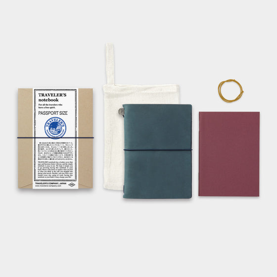 Traveler's Company - Traveler's Notebook - Passport - Blue