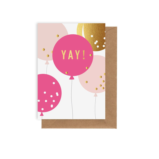 ELM Paper - Card - Birthday - Balloons