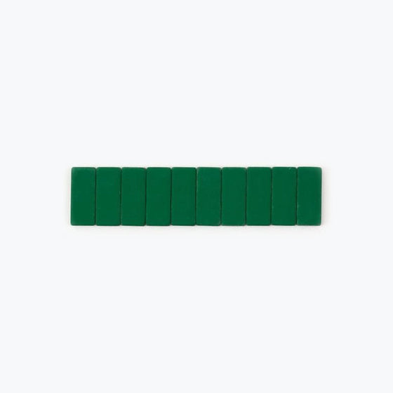 Palomino Blackwing - Replacement Erasers - 10 Pack - Green