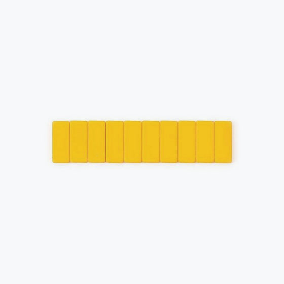 Palomino Blackwing - Replacement Erasers - 10 Pack - Yellow