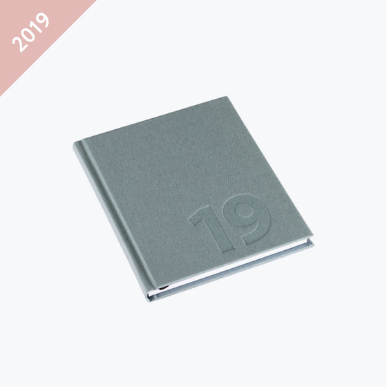 Bookbinders Design - 2019 Diary - Hardcover - Small - Dusty Green