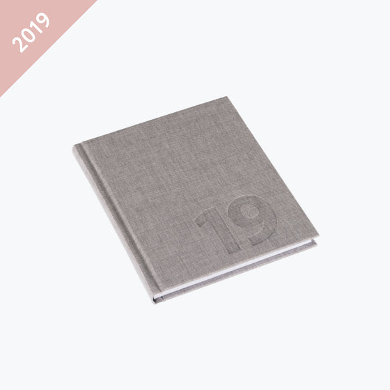 Bookbinders Design - 2019 Diary - Hardcover - Small - Kalkstein
