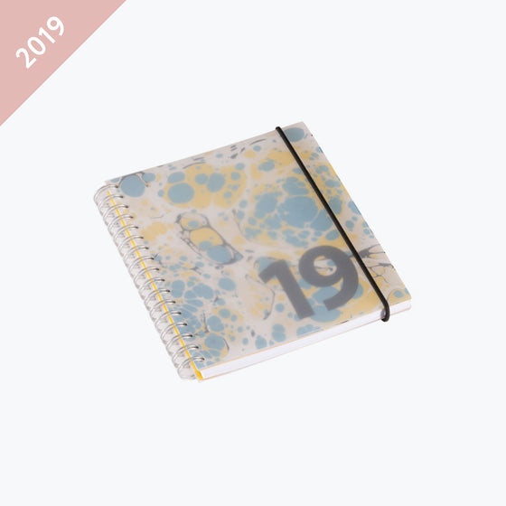 Bookbinders Design - 2019 Diary - Wire-O - Small - Clear