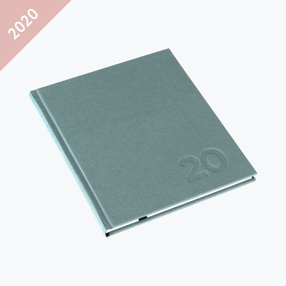 Bookbinders Design - 2020 Diary - Hardcover - Regular - Aqua