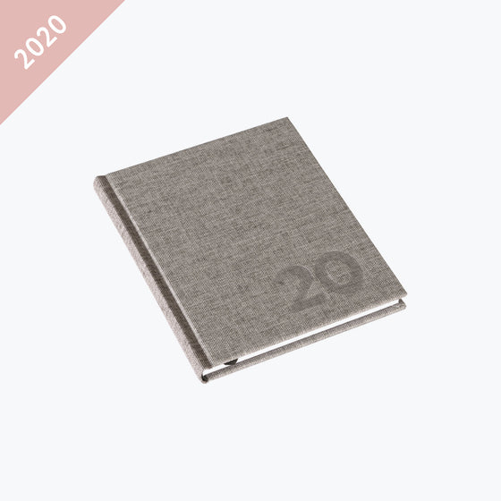 Bookbinders Design - 2020 Diary - Hardcover - Small - Light Grey
