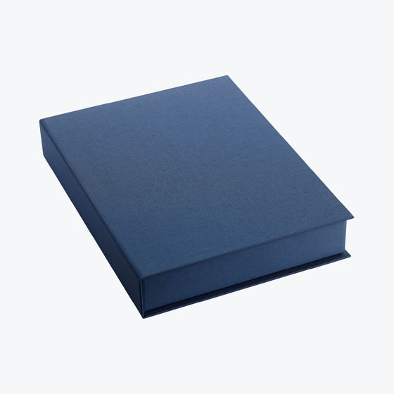 Bookbinders Design - Box - A4 - Smoke Blue