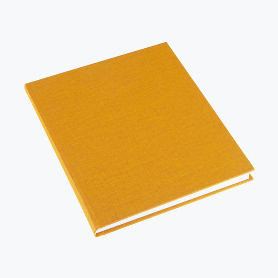 Bookbinders Design - Cloth Notebook - Large - Sun Yellow