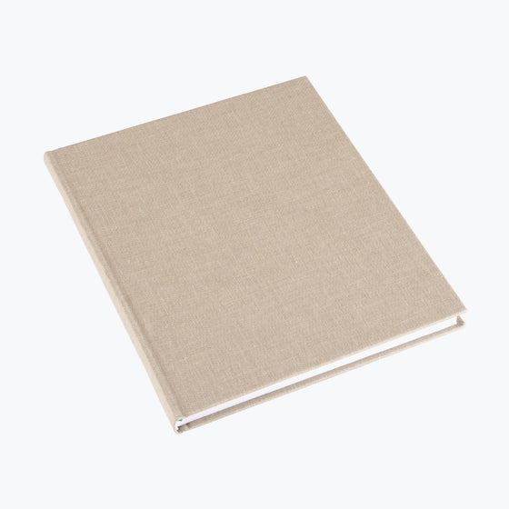 Bookbinders Design - Cloth Notebook - Large - Sandbrown