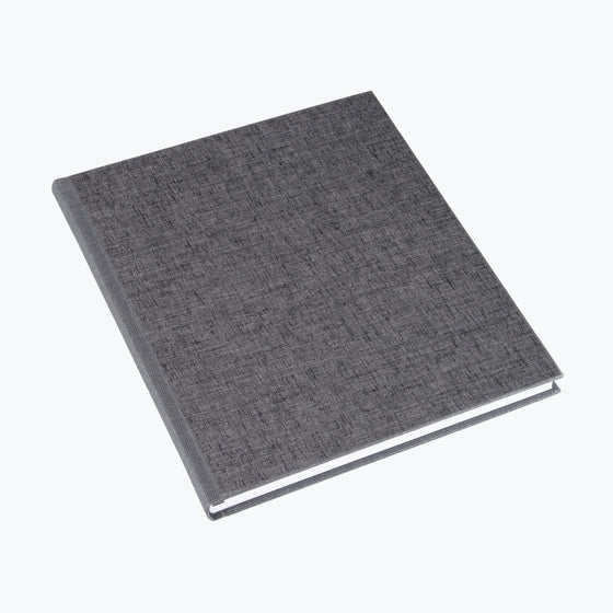 Bookbinders Design - Cloth Notebook - Large - Black/White