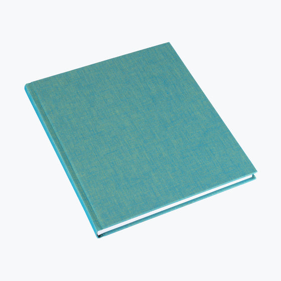Bookbinders Design - Cloth Notebook - Large - Turquoise