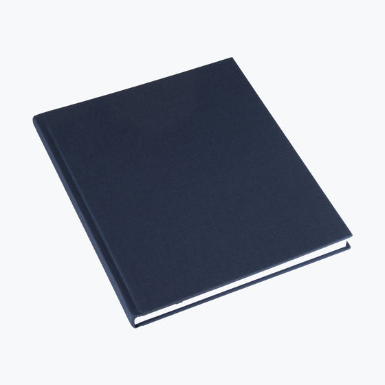 Bookbinders Design - Cloth Notebook - Large - Smoke Blue