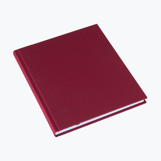Bookbinders Design - Cloth Notebook - Large - Rose Red
