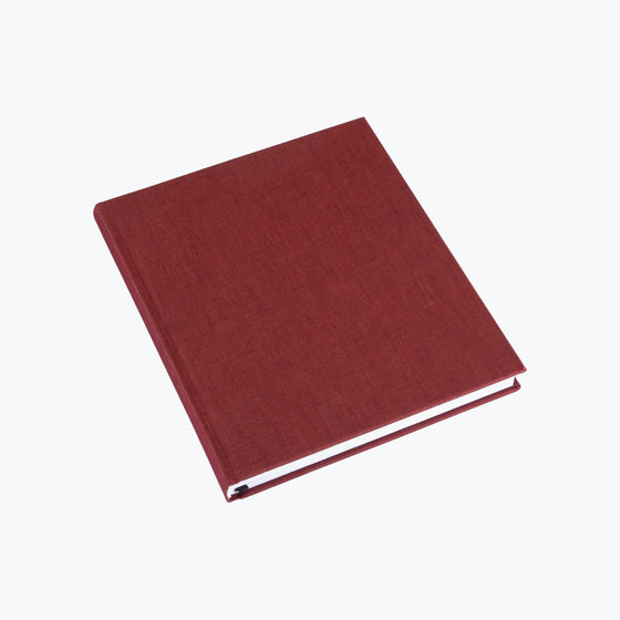 Bookbinders Design - Cloth Notebook - Regular - Dark Red