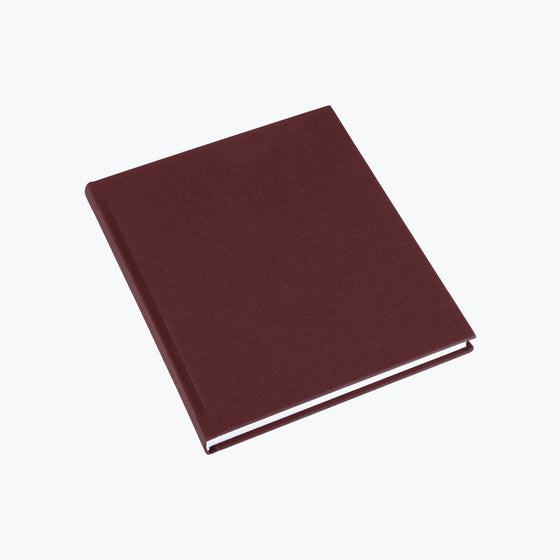 Bookbinders Design - Cloth Notebook - Regular - Burgundy