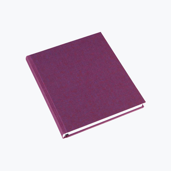 Bookbinders Design - Cloth Notebook - Regular - Traube