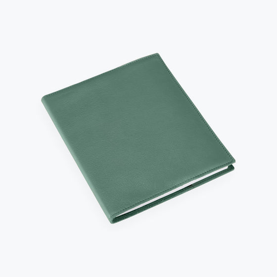Bookbinders Design - Notebook - Leather - Regular - Dusty Green