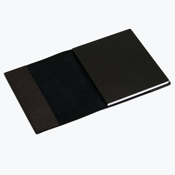 Bookbinders Design - Notebook - Leather - Regular - Black