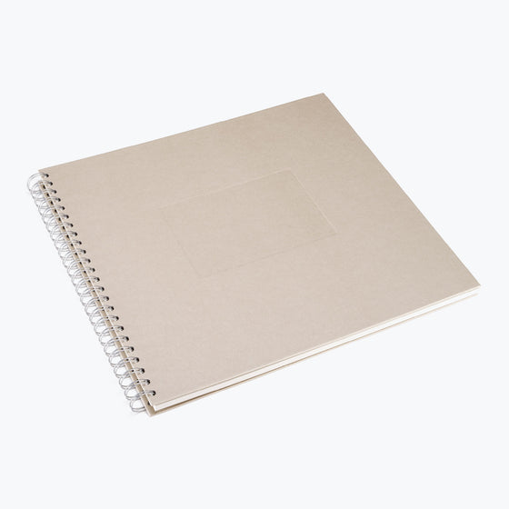 Bookbinders Design - Photo Album - Wire-O - Large - Sand
