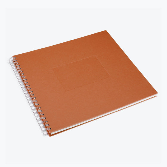 Bookbinders Design - Photo Album - Wire-O - Large - Terracotta