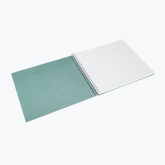 Bookbinders Design - Photo Album - Wire-O - Large - Blue-Green