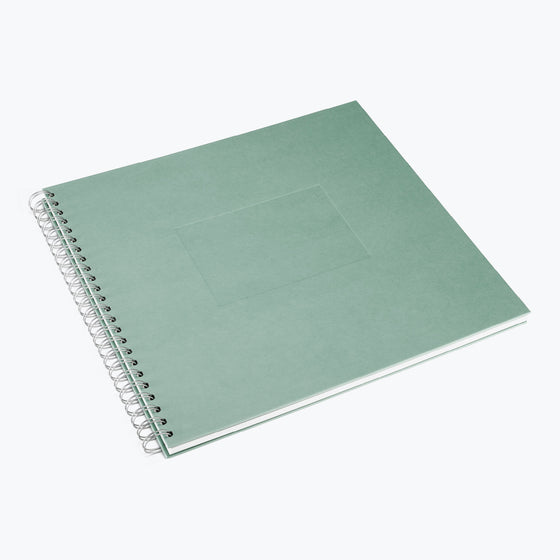 Bookbinders Design - Photo Album - Wire-O - Large - Light Green