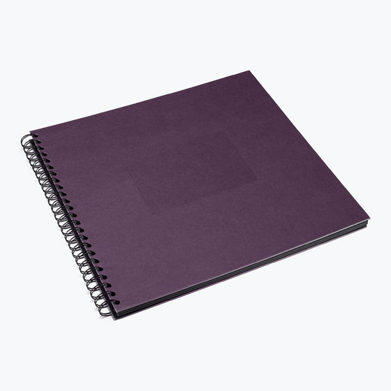 Bookbinders Design - Photo Album - Wire-O - Large - Plum