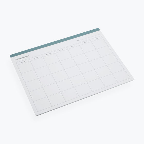 Bookbinders Design - Planner - Monthly - Dusty Green