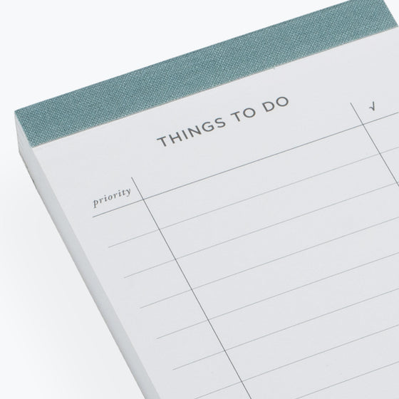 Bookbinders Design - Planner - To Do List - Dusty Green