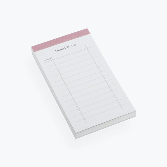 Bookbinders Design - Planner - To Do List - Dusty Pink