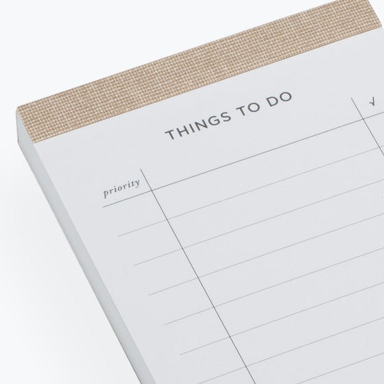 Bookbinders Design - Planner - To Do List - Sandbrown