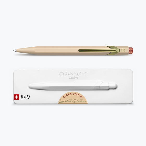 Caran d'Ache - Ballpoint Pen - 849 Claim Your Style - Beige (Limited Edition)
