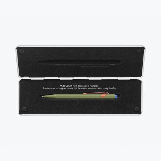Caran d'Ache - Ballpoint Pen - 849 Claim Your Style - Green (Limited Edition)