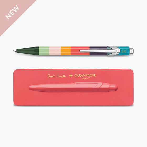 Paul Smith 849 Coral Pink ballpoint pen