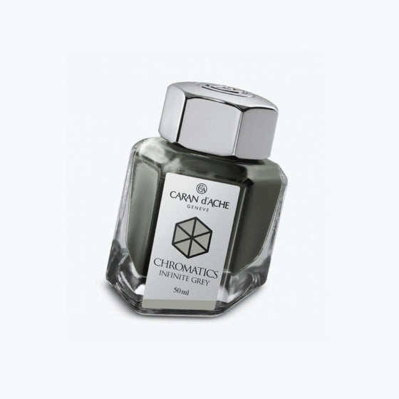 Caran d'Ache - Fountain Pen Ink - Chromatics - Infinite Grey 50ml