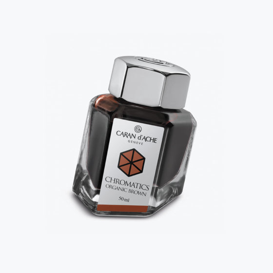 Caran d'Ache - Fountain Pen Ink - Chromatics - Organic Brown 50ml