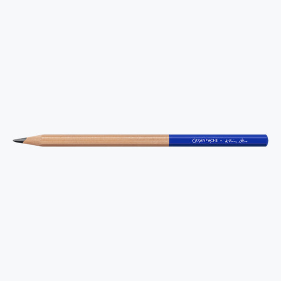 Caran d'Ache - Pencils - Klein Blue® - Set of 4 (Limited Edition)