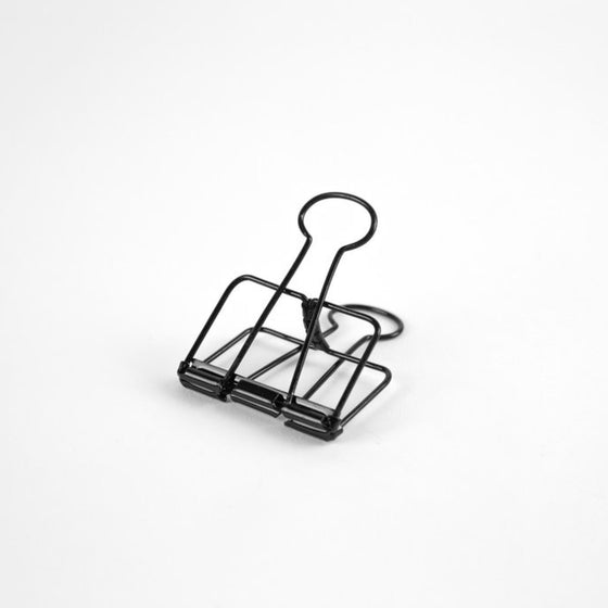 Bound by Design - Bulldog Clip - Black