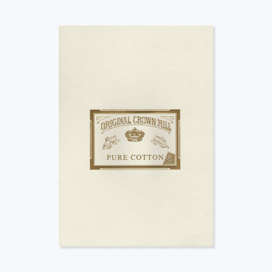 Crown Mill - Writing Pad - A4 - Pure Cotton