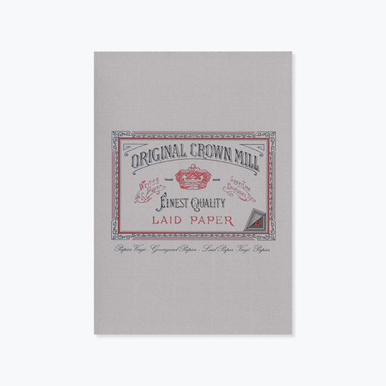 Crown Mill - Writing Pad - A5 - Grey