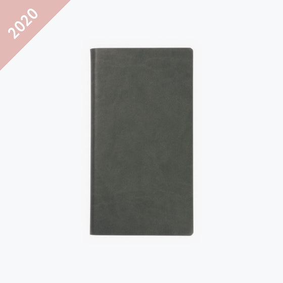 Daycraft - 2020 Diary - Signature - Pocket - Grey